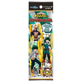 Booster de stickers + chewing-gum My Hero Academia Long Sticker Gum