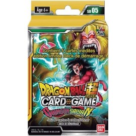 Starter Dragon Ball Super Card Game SD05 The Crimson Saiyan