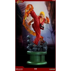 Statuette Street Fighter IV 1/4 Ken Dragon Flame