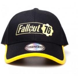 Casquette réglable Fallout 76 Logo Jaune