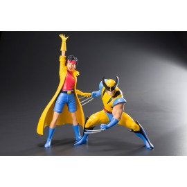 Pack de 2 figurines Marvel X-Men '92 ARTFX+ 1/10 Wolverine & Jubilee