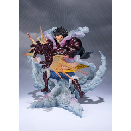 Figurine One Piece Figuarts Zero Monkey D. Luffy Gear 4 Leo Bazooka