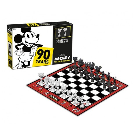 Jeu d'échecs Disney Mickey The True Original 90 Years