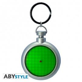 Porte-clés sonore et lumineux Dragon Ball Z Radar à Boules de Cristal