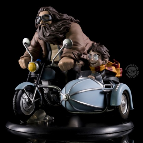 Figurine diorama Harry Potter Q-Fig MAX Harry Potter & Rubeus Hagrid