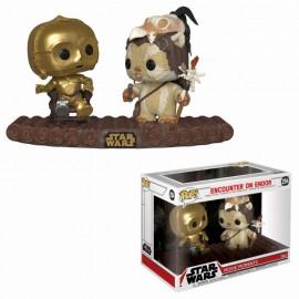 Figurine Star Wars POP! Movie Moments C-3PO on Throne