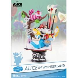 Diorama D-Select Alice au Pays des Merveilles