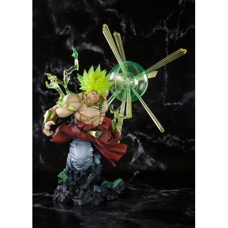 Figurine Dragon Ball Z Figuarts Zero Super Saiyan Broly Burning Battle