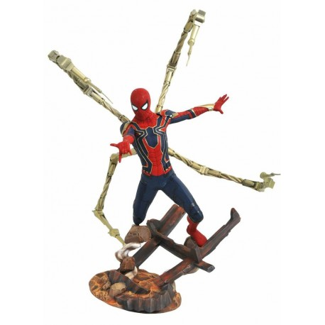 Statuette Avengers Infinity War Marvel Premier Collection Iron Spider-Man