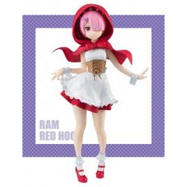 Figurine Re:Zero Super Special Series Ram Red Hood