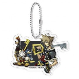Porte-clés Disney Kingdom Hearts Acrylic Charm Kingdom Hearts II