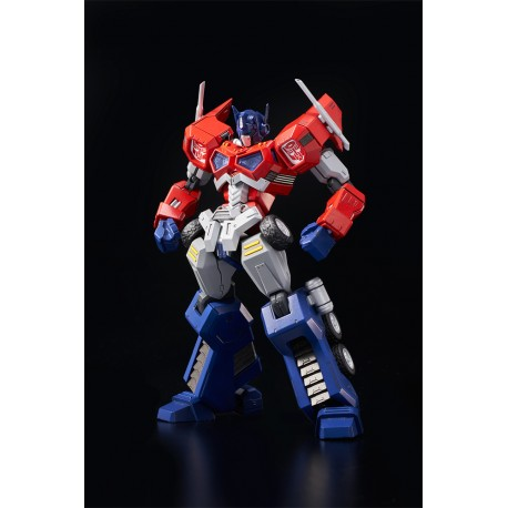Maquette Transformers Furai Model Plastic Model Kit Optimus Prime Attack Mode