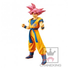 Figurine Dragon Ball Super Chokoku Buyuden Sangoku Super Saiyan God