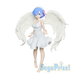 Figurine Re:Zero Limited Premium Figure Rem Oni Tenshi Version