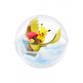 Pokemon Terrarium Collection 5 Pikachu & Roucoups
