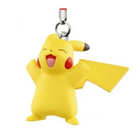 Porte-clés figurine Pokémon Sun & Moon Mascot 3 Pikachu