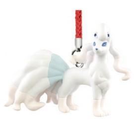 Porte-clés figurine Pokémon Sun & Moon Mascot 3 Feunard d'Alola