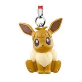Porte-clés figurine Pokémon Sun & Moon Mascot 3 Évoli de Néphie (Nagisa)