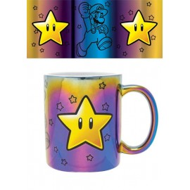 Mug Super Mario Metallic Star Power