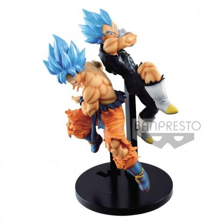 Lot de 2 figurines Dragon Ball Super Tag Fighters Sangoku