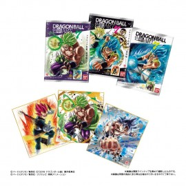 Boite de 10 cartes Dragon Ball Shikishi Art 7