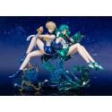 Lot de 2 figurines Sailor Moon Figuarts Zero Chouette Sailor Uranus & Sailor Neptune *PRECO*