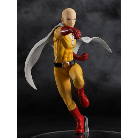 Figurine One Punch Man Pop Up Parade Saitama Hero Suit Version