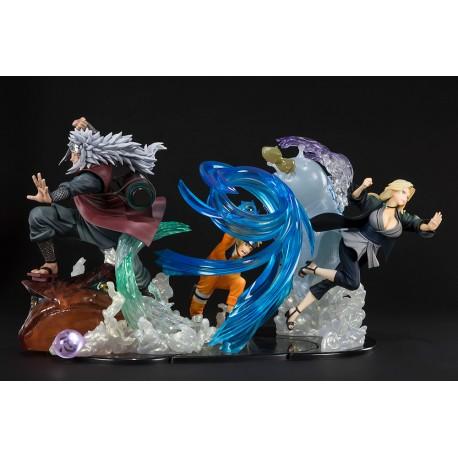 Figurine Naruto Figuarts Zero Kizuna Relation Naruto, Jiraiya & Tsunade