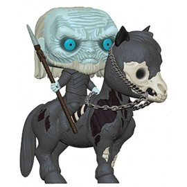 Game of Thrones POP! Rides Vinyl figurine White Walker sur cheval