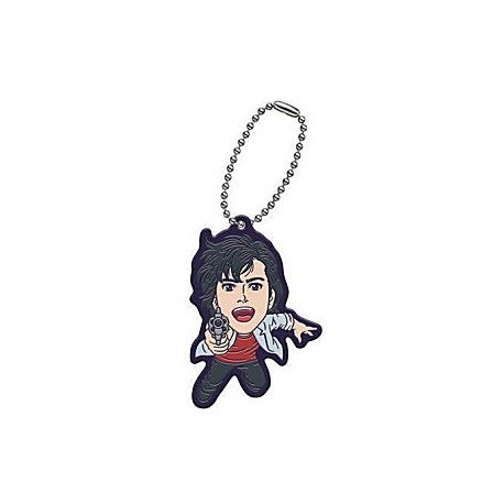 Porte-clés City Hunter Movie Rubber Mascot Pendentifs Ryo