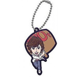 Porte-clés City Hunter Movie Rubber Mascot Pendentifs Ryo & Kaori