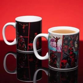Mug Deadpool Effet Thermique Iconic Comic