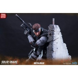 Statuette Metal Gear Solid Solid Snake