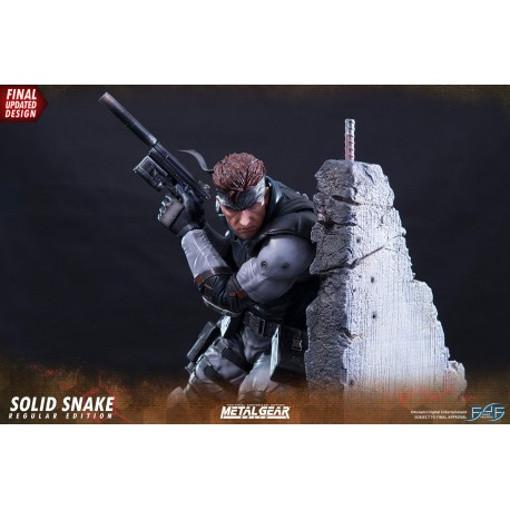 Statuette Metal Gear Solid Solid Snake