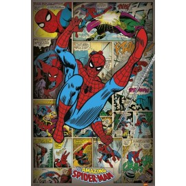 Poster Spider-Man Rétro
