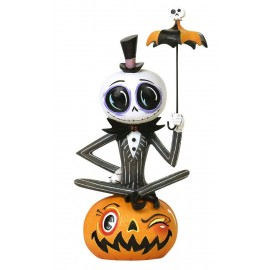 Figurine The World of Miss Mindy Presents Disney L'Étrange Noël de monsieur Jack Jack Skellington