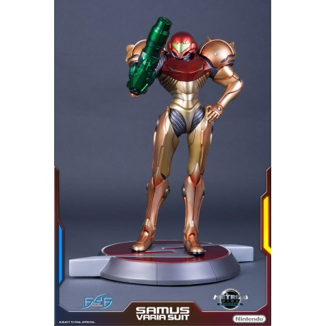 Figurine Metroid Prime Echoes 1:4 Scale Figure Regular Edition Samus Varia Suit