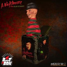 Boîte à Musique Nightmare On Elm Street Diable en Boîte Burst-A-Box Freddy Krueger
