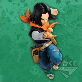 Figurine Dragon ball Z The Android Battle Android 17