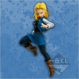 Figurine Dragon ball Z The Android Battle Android 18