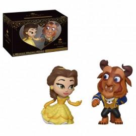 Pack de 2 Figurines La Belle Et La Bête Mystery Mini Vinyl La Belle Et La Bête