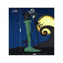 Figurine L'Étrange Noël De Mr Jack Skellington LPM Diorama Jack Skellington