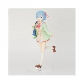 Figurine Re:Zero Rem Student Uniform Version