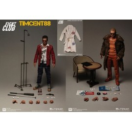 Pack de 2 Figurines Fight Club Tyler Durden