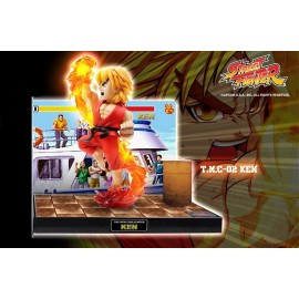 Statuette Street Fighter Sonore & Lumineux Ken