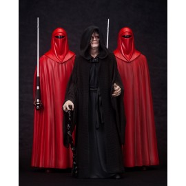 Pack de 3 Figurines ARTFX+ Star Wars Emperor Palpatine Royal Guard