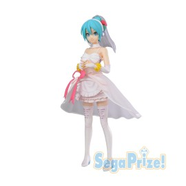 Figurine Hatsune Miku SPM White Dress