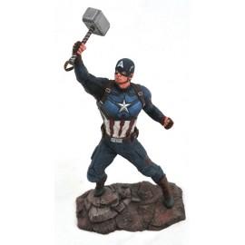 Statuette Avengers Endgame Marvel Gallery Captain America