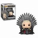Figurine Game of Thrones POP! Deluxe Daenerys sur le trône de fer