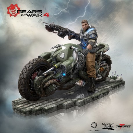 Figurine Gears of War 4 Collector's Edition JD Fenix